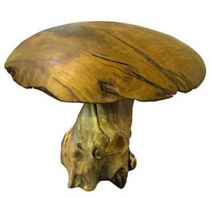 Wooden Mushrooms For Your Home And Garden Driftwood Horse