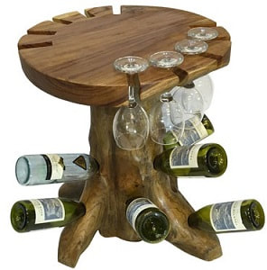 driftwood drinking table
